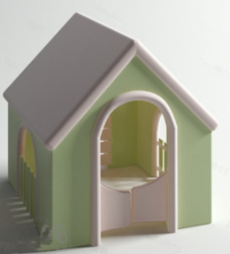 Refreshing Small Kennel 3d Max Model Free (3ds,Max) Free