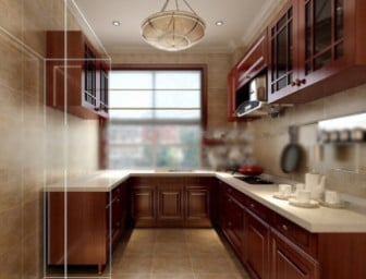 Kitchen Design Interior Scene