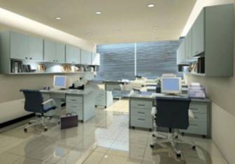 Multiplayer Office Space Interior 3d Max Model Free