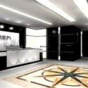 Company Reception Design Interior Scene