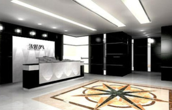 Company Reception Design 3d Max Model Free