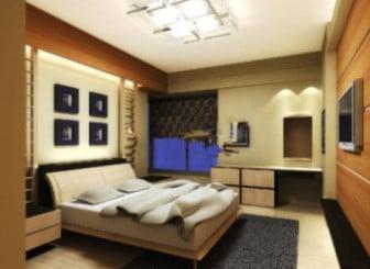 Warm Bedroom Interior Scene 3d Model 3ds Max Open3dmodel 19404