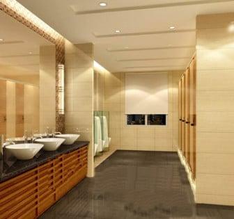 Public Health interior Scene 3d Max Model