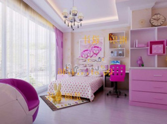 Girl Bedroom Interior 3d Max Model Free 3ds Max Free