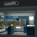 Apple Shop Design Interior Scene