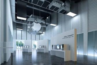 Interior Scene Apple Store