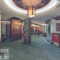 Luxury Hotel Interior Scene