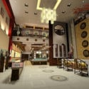 Luxury Jewelry Store Interior Scene 3d Max Model Free