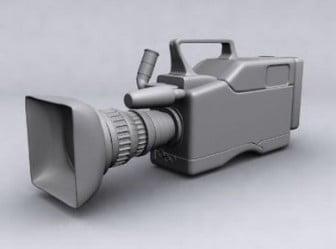 Professional Camera 3d Max Model Free