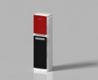 Small Red And White Vertical Air 3d Max Model Free
