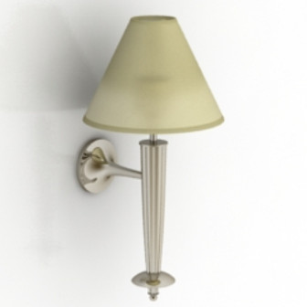 Antique Bedside Lamp 3d Max Model Free