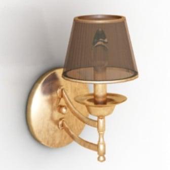 Hotel Bedside Lamp 3d Max Model Free