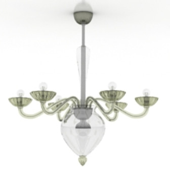 Exquisite Chandelier 3d Max Model Free (3ds,Max) Free Download ...