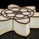 Flower Shape Ceiling Lamp 3dsMax Model