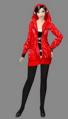 Beauty Dj Girl 3dsMax Model Character