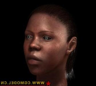 African Female 3dsMax Model Free