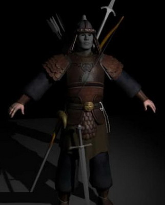 Ancient Chinese Warrior  Free