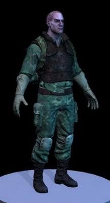 Soldier Man Character
