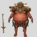 Game Warrior Character 3dsMax Model Free
