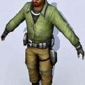 Man Warrior Character 3dsMax Model Free