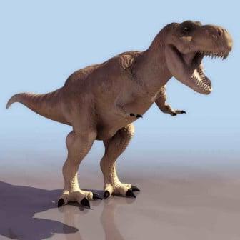 T-rex Dinosaur 3dsMax Model