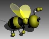 Animal Puppet Bee 3dsMax Model