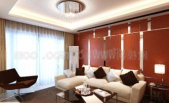 Cozy Living Room Interior 3d Max Model Free