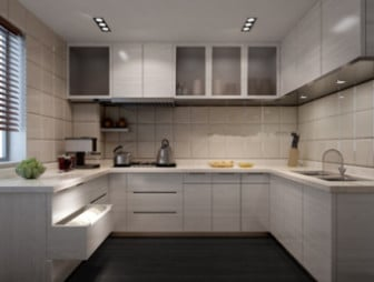 Small Kitchen Interior Scene 3d Max Model Free