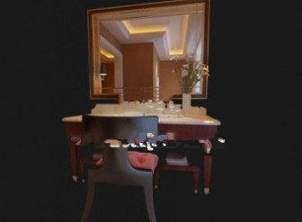 3d Max Model Bathroom Vanity