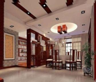 Chinese Restaurant 3dsMax Model