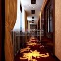 Hotel Hallway Interior Scene