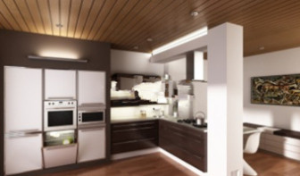 3d Max Model Interior Scene European Kitchen
