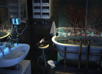 3d Max Model Scene Fantasy Bathroom