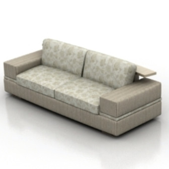 Gray Sofa 3d Max Model Free