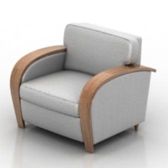 Luxury Fabric Armchair