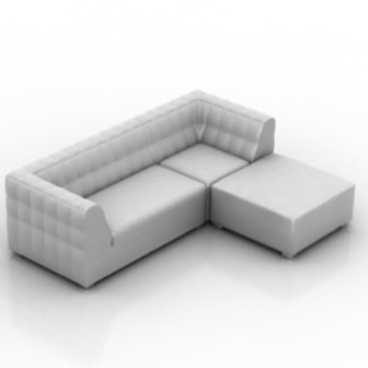 Chaise Sofa 3d Max Model Free