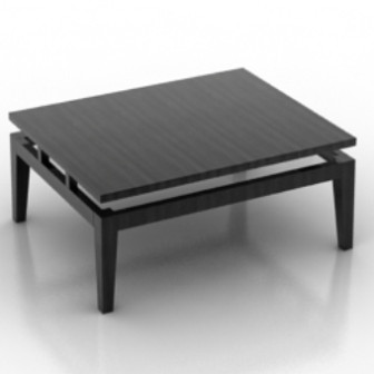 coffee table 3d model free download
