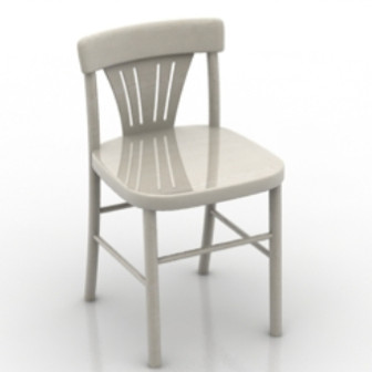Simple Wood Chair 3d Max Model Free