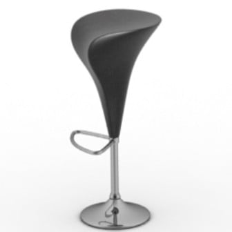 Bar Chair Flower Style Design 3d Max Model Free