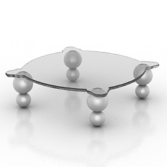 Glass Tea Table 3d Max Model Free