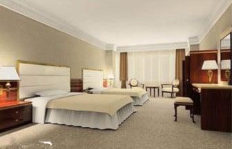 Hotelli Standard-huoneen kohtaus