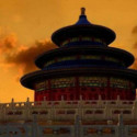Chinese Beijing Tiantan Building 3dsMax Model