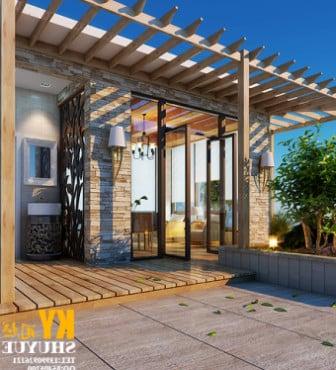 Evening Garden House 3d Max Model Free