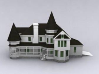 Modern Luxury Villa 3dsMax Model