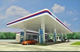 Oil Gas Station 3dsMax Model