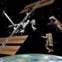 Astronaut Satellite 3dsMax Model Scene