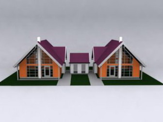 Small Villa 3dsMax Model