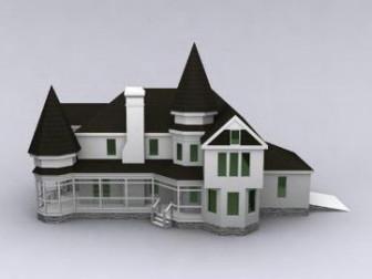 Luxurious Villa 3dsMax Model