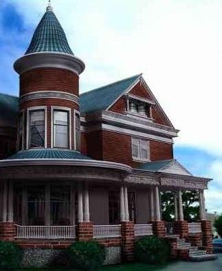 Continental  Villa Building 3dsMax Model