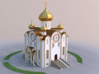 Mosque 3dsMax Model